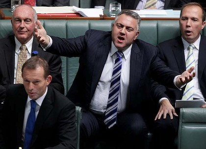 Federal shadow treasurer Joe Hockey. Photo: Alex Ellinghausen
